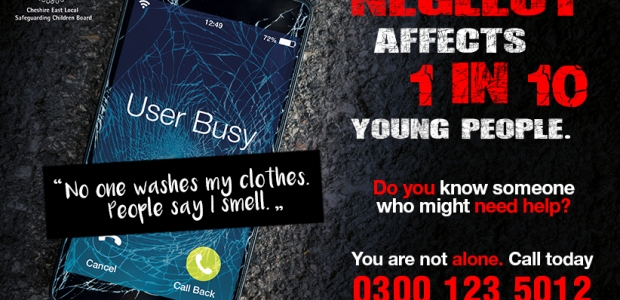 User Busy: Adolescent Neglect Campaign